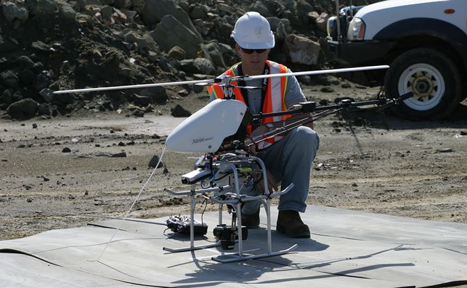 Aerial Mapping With UAVs And DM Analyst Mine Mapping Suite ADAM - Aerial mapping software