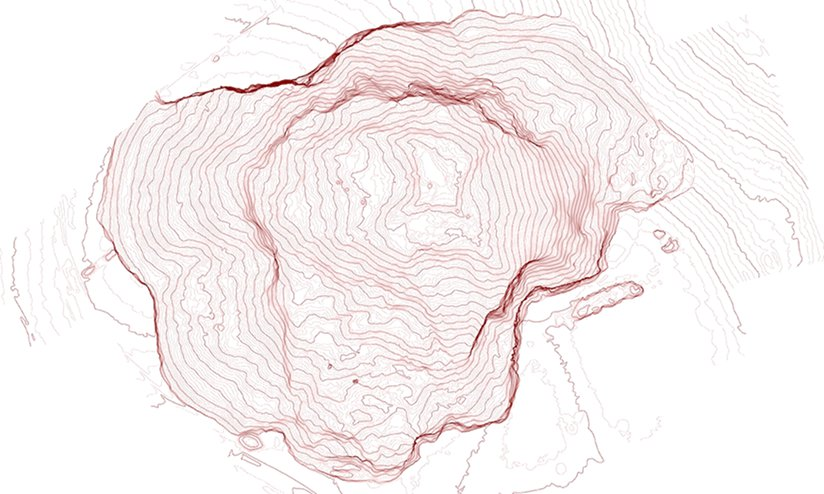 Subsidence Contours